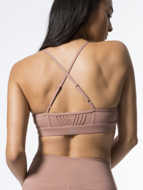 ALO Yoga Ultimate Bra -Sexy Workout Bra Tops Rosewater