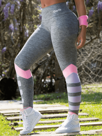 OXYFIT Leggings Jasmin 64105 Rosa- Sexy Workout Leggings