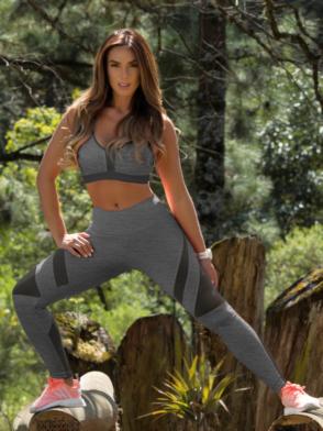 OXYFIT Leggings Amarilis 64106 Heather- Sexy Workout Leggings