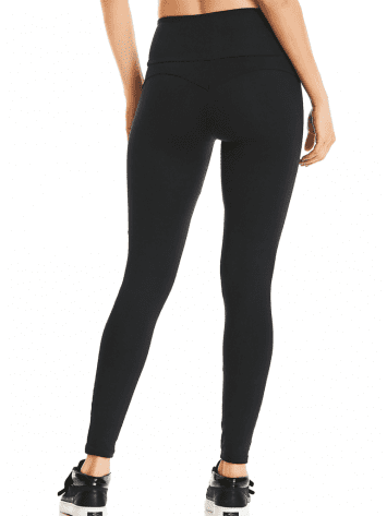 CAJUBRASIL Leggings 9622 Black- Cute Workout Clothes-Brazilian