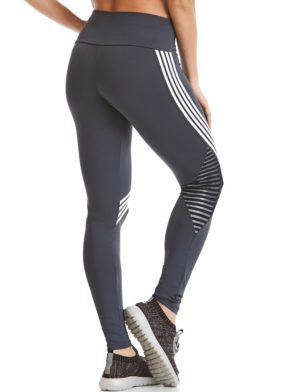 CAJUBRASIL Leggings 9646 Charcoal- Cute Workout Clothes-Brazilian