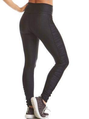 CAJUBRASIL Leggings 9655 Black- Cute Workout Clothes-Brazilian