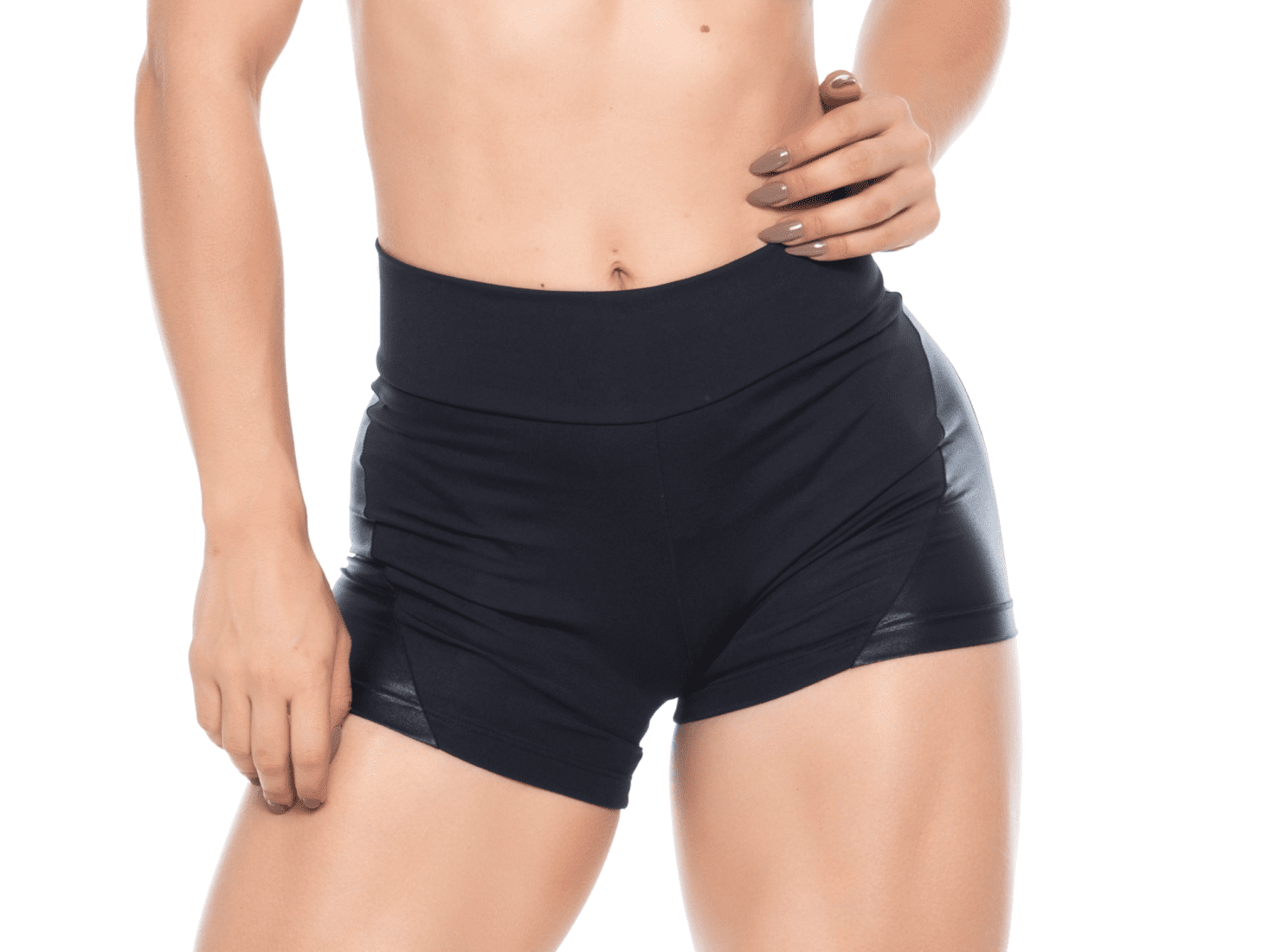 Bombshell Shorts 050 Black front