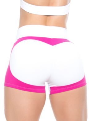 BOMBSHELL BRAZIL Shorts WHITE APPLE BOOTY -Sexy Shorts