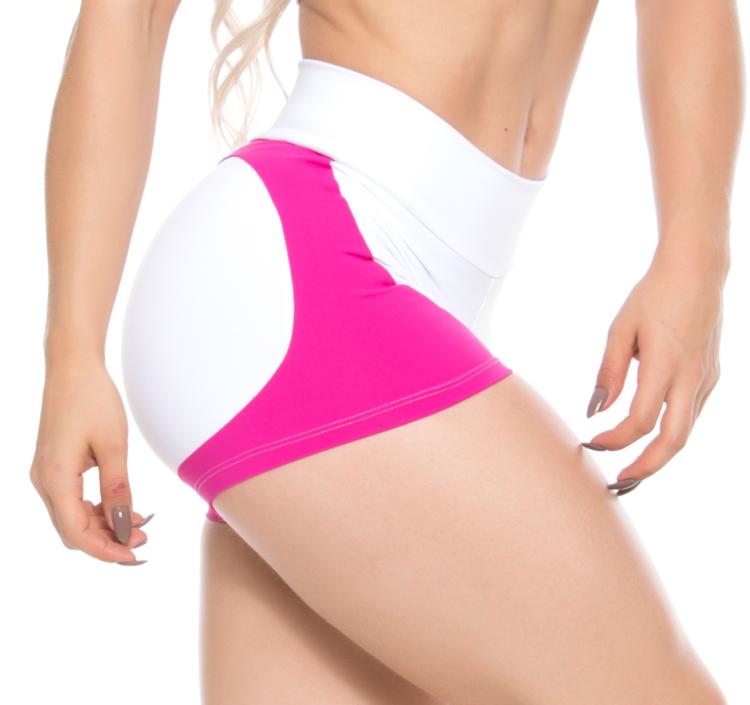 BOMBSHELL BRAZIL Shorts WHITE APPLE BOOTY -Sexy Shorts