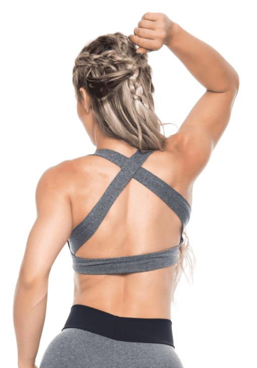 BOMBSHELL BRAZIL Sports Bra Bulge - Jersey -Sexy Workout Top