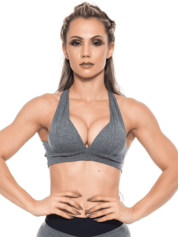 BOMBSHELL BRAZIL Sports Bra Bulge – Jersey -Sexy Workout Top