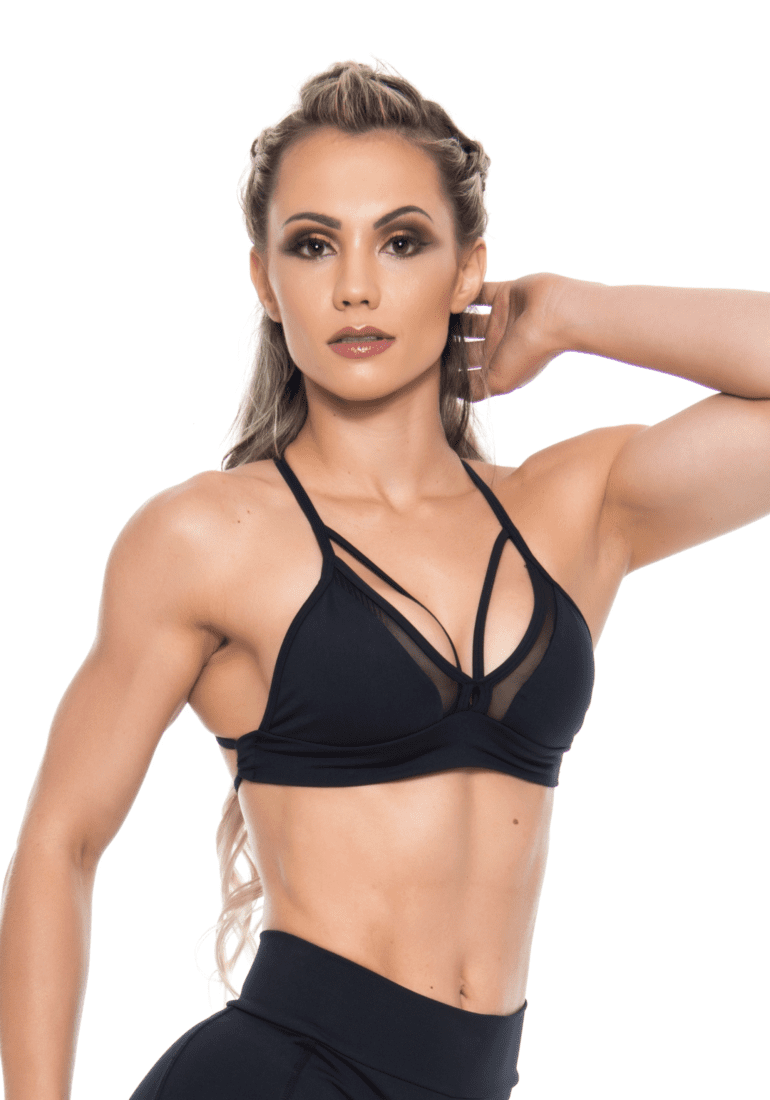 Bombshell top hot girl 0202 black side