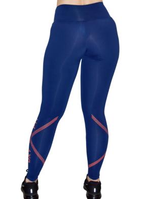 OXYFIT Leggings Mix 64044 Navy- Sexy Workout Leggings