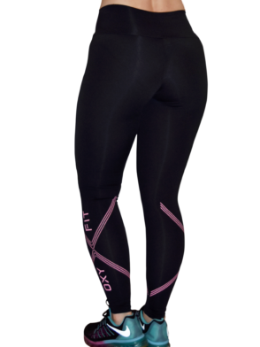 OXYFIT Leggings Mix 64044 Black - Sexy Workout Leggings