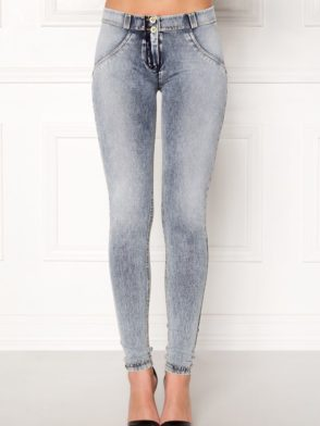 FREDDY WR.UP Shaping Effect - Regular Waist - Skinny - Denim Effect Acid Wash