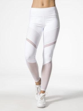 ALO Yoga Sheila Leggings High Waisted Sexy Yoga Pants – Pilates Leggings White