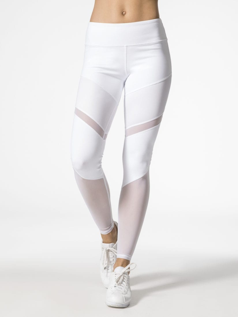 a0f274bacaf9d ALO Yoga Sheila Leggings High Waisted Sexy Yoga Pants - Pilates Leggings  White