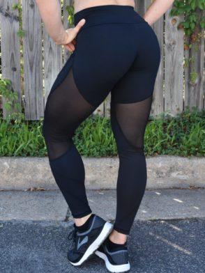 OXYFIT Leggings Season 64115 Black- Sexy Workout Leggings