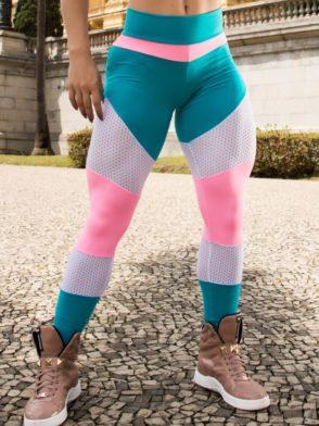BOMBSHELL Leggings Brazil Fit Girl Bubble Gum Teal – Sexy Leggings
