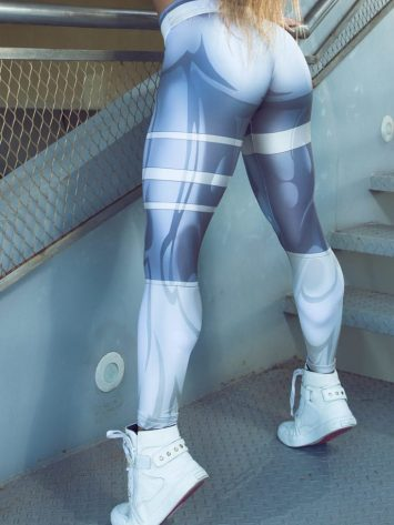 DYNAMITE Brazil Leggings L400 Mercury – Sexy Workout Leggings