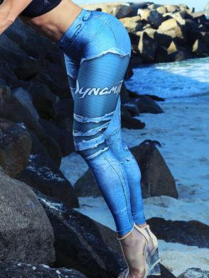 DYNAMITE BRAZIL Leggings L400 Placebo Denim-Sexy Workout Legging