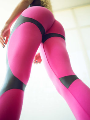 DYNAMITE Brazil Leggings L2094 APPLE BOOTY PINK – Sexy Workout Leggings