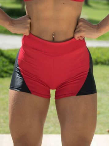 BOMBSHELL BRAZIL Shorts APPLE BOOTY Red -Sexy Shorts