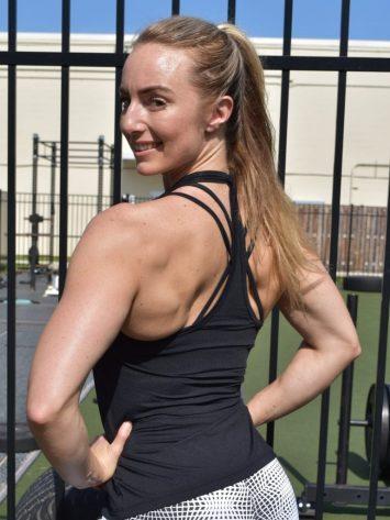 OXYFIT Tank Top Regata Box 46374 Black- Sexy Workout Tops
