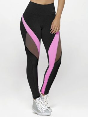 OXYFIT Leggings Score 64122 Black- Sexy Workout Leggings