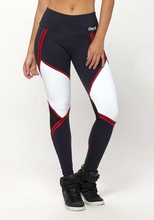 OXYFIT Leggings Will 64126 Black White- Sexy Workout Leggings
