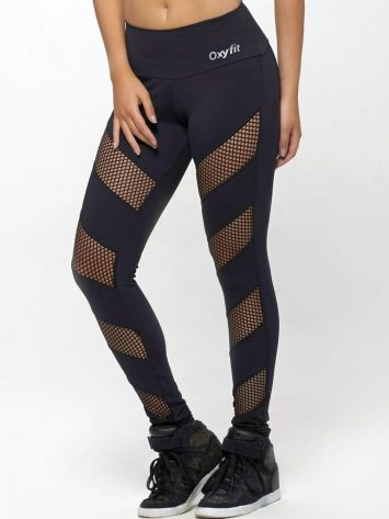 OXYFIT Leggings Jump 64127 Black- Sexy Workout Leggings