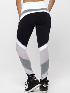 OXYFIT Leggings WOD 64129 Jersey Black - Sexy Workout Leggings