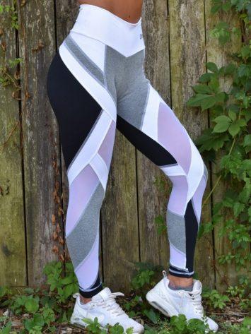 OXYFIT Leggings WOD 64129 Jersey Black – Sexy Workout Leggings