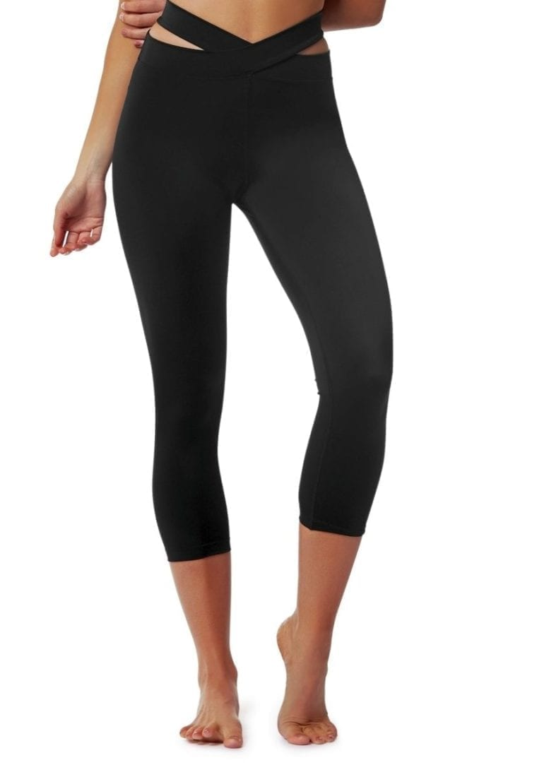 L'URV Leggings EVOLUTION 3/4 Leggings Sexy Workout Tights Black