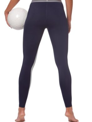L'URV Leggings KINETIC ENERGY Leggings Sexy Workout Tights Navy