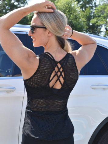 OXYFIT Tank Top Regata WOD 46376 Black Sexy Workout Tops