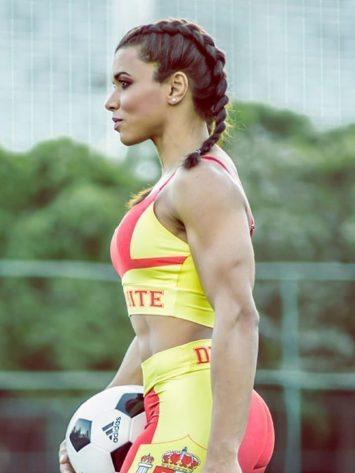 DYNAMITE BRAZIL Sports Bra Top T221 SPAIN- Sexy Tops