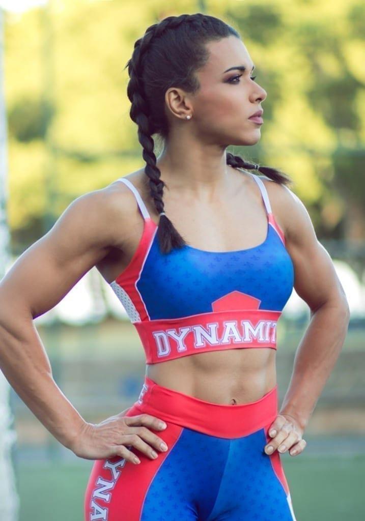 9802c76012 DYNAMITE Sports Bra Top T221 Top Dynamite Girl-Sexy Tops