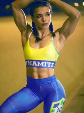 DYNAMITE BRAZIL Sports Bra Top T221 BRAZIL- SexyTops
