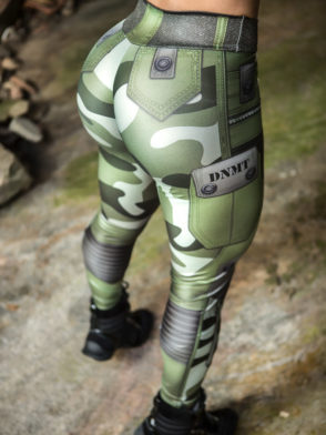 Dynamite Brazil Leggings – Jungle Soldier