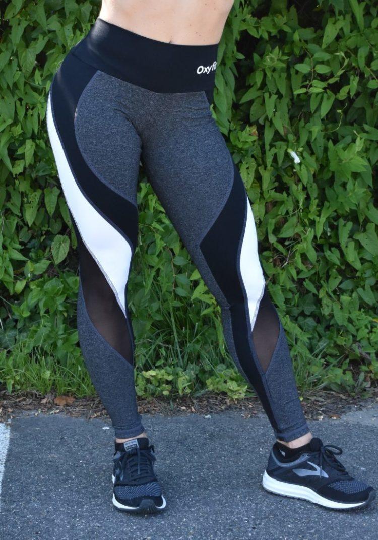 OXYFIT Leggings Reach 64123 Charcoal Heather - Sexy Workout Leggings