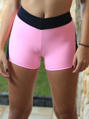 DYNAMITE BRAZIL Shorts SH2094 APPLE BOOTY PINK NEON-Sexy Shorts