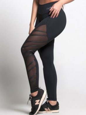 OXYFIT Leggings Thunder 64151 Black- Sexy Workout Leggings