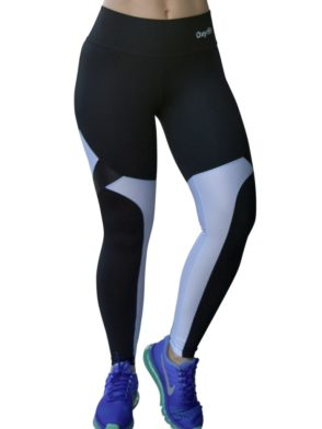 OXYFIT Leggings View 64153 Black- Sexy Workout Leggings