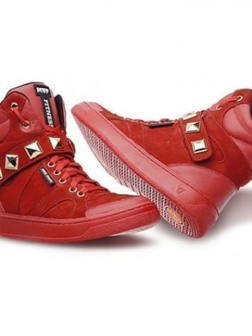 MVP Hard Fit 70102 Red Workout Sneakers