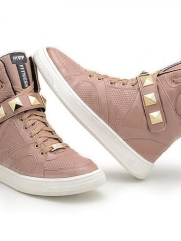 MVP Hard Fit 70102 Champagne Varnish Workout Sneakers