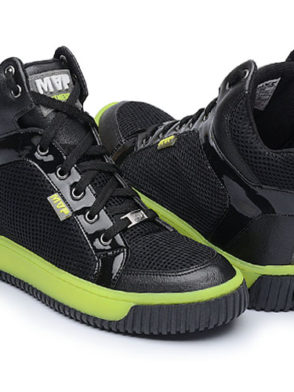 MVP Fitness Leg New 70114 Black Yellow Workout Sneakers
