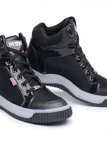 MVP Fitness Leg New 70113 Black White Workout Sneakers