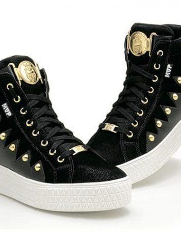 MVP Street Fashion 70118 Black white Workout Sneakers