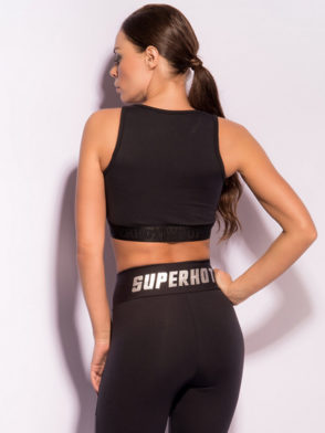 SUPERHOT Bra Top1472 Sexy Workout Tops Cute Yoga Sport Bra