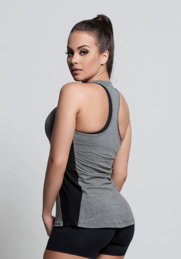 OXYFIT Tank Top Regata Welfare 46395 Heather- Sexy Workout Tops