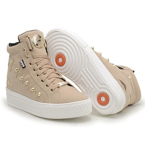 MVP Fitness Street Fashion Fit 70118 Almond Workout Sneakers