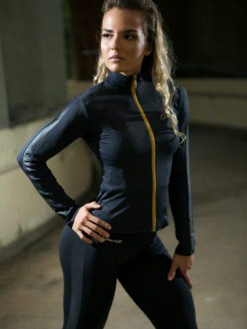 DYNAMITE BRAZIL Jacket CA502 ETERNAL-Sexy Workout Long Sleeve Jacket
