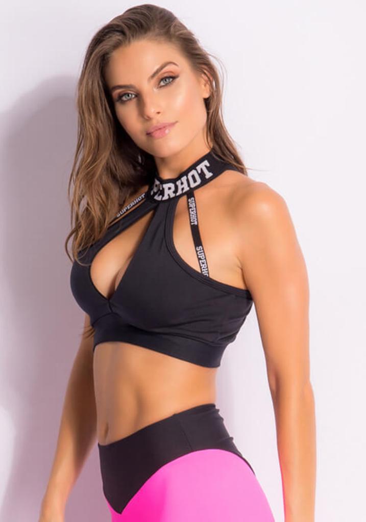 SUPERHOT Bra Top1833 Sexy Workout Tops-Cute Yoga Sport Bra